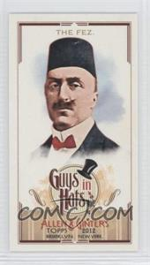 2012 Topps Allen & Ginter's Guys in Hats Minis #GH-4 - [Missing]