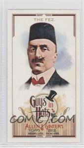 2012 Topps Allen & Ginter's Guys in Hats Minis #GH-4 - The Fez