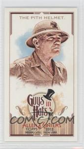 2012 Topps Allen & Ginter's Guys in Hats Minis #GH-5 - The Pith Helmet