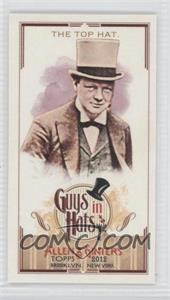 2012 Topps Allen & Ginter's Guys in Hats Minis #GH-6 - The Top Hat