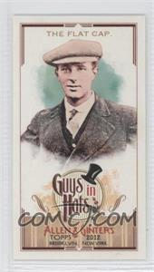 2012 Topps Allen & Ginter's Guys in Hats Minis #GH-8 - The Flat Cap