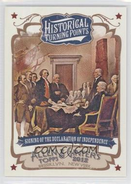 2012 Topps Allen & Ginter's Historical Turning Points #HTP1 - [Missing]
