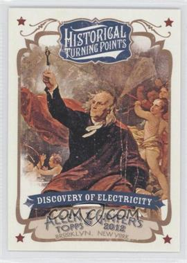 2012 Topps Allen & Ginter's Historical Turning Points #HTP10 - [Missing]