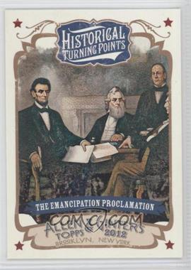 2012 Topps Allen & Ginter's Historical Turning Points #HTP14 - [Missing]