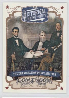 2012 Topps Allen & Ginter's Historical Turning Points #HTP14 - [Missing]