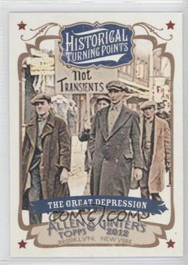 2012 Topps Allen & Ginter's Historical Turning Points #HTP17 - Grant Desme