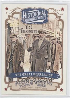 2012 Topps Allen & Ginter's Historical Turning Points #HTP17 - Greg Denton