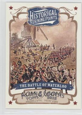 2012 Topps Allen & Ginter's Historical Turning Points #HTP2 - The Battle of Waterloo
