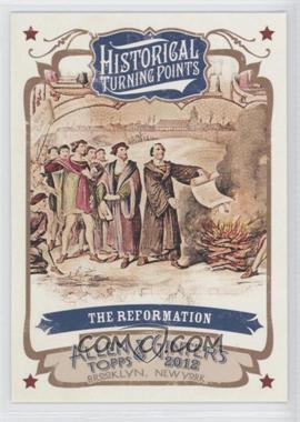 2012 Topps Allen & Ginter's Historical Turning Points #HTP4 - [Missing]