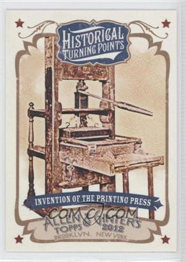 2012 Topps Allen & Ginter's Historical Turning Points #HTP7 - [Missing]
