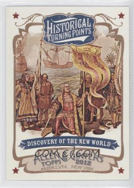 2012 Topps Allen & Ginter's Historical Turning Points #HTP9 - [Missing]