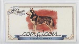 2012 Topps Allen & Ginter's Man's Best Friend Minis #MBF-1 - Siberian Husky