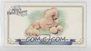 2012 Topps Allen & Ginter's Man's Best Friend Minis #MBF-10 - Poodle