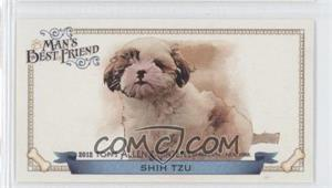2012 Topps Allen & Ginter's Man's Best Friend Minis #MBF-12 - Shih Tzu