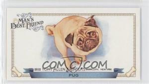 2012 Topps Allen & Ginter's Man's Best Friend Minis #MBF-14 - Pug
