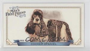 2012 Topps Allen & Ginter's Man's Best Friend Minis #MBF-15 - Cocker Spaniel