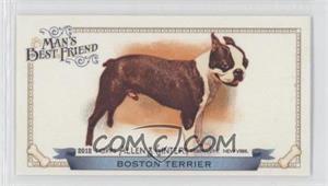 2012 Topps Allen & Ginter's Man's Best Friend Minis #MBF-18 - Boston Terrier
