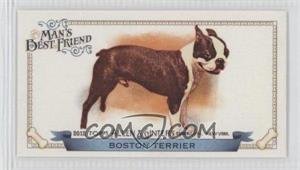 2012 Topps Allen & Ginter's Man's Best Friend Minis #MBF-18 - Boston Terrier
