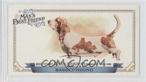 2012 Topps Allen & Ginter's Man's Best Friend Minis #MBF-19 - Basset Hound