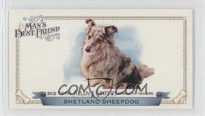 2012 Topps Allen & Ginter's Man's Best Friend Minis #MBF-20 - Shetland Sheepdog