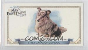 2012 Topps Allen & Ginter's Man's Best Friend Minis #MBF-20 - Shetland Sheepdog