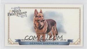 2012 Topps Allen & Ginter's Man's Best Friend Minis #MBF-4 - German Shepherd