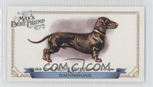 2012 Topps Allen & Ginter's Man's Best Friend Minis #MBF-6 - Dachshund