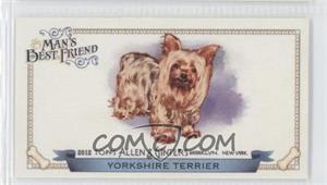 2012 Topps Allen & Ginter's Man's Best Friend Minis #MBF-7 - Yorkshire Terrier