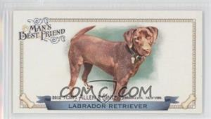 2012 Topps Allen & Ginter's Man's Best Friend Minis #MBF-8 - Labrador Retriever