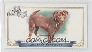 2012 Topps Allen & Ginter's Man's Best Friend Minis #MBF-8 - Labrador Retriever