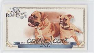 2012 Topps Allen & Ginter's Man's Best Friend Minis #MBF-9 - Boxer