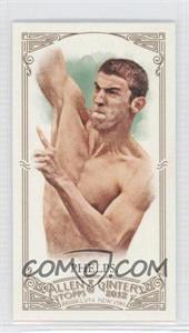 2012 Topps Allen & Ginter's Minis Allen & Ginter Back #129 - Michael Phelps