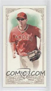 2012 Topps Allen & Ginter's Minis Allen & Ginter Back #140 - Mike Trout