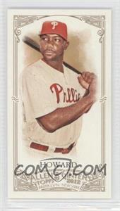 2012 Topps Allen & Ginter's Minis Allen & Ginter Back #306 - Ryan Howard