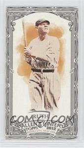 2012 Topps Allen & Ginter's Minis Black Border #176 - Babe Ruth