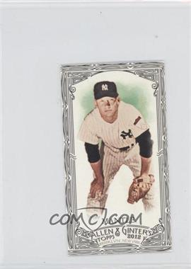 2012 Topps Allen & Ginter's Minis Black Border #7 - Mickey Mantle