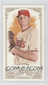 2012 Topps Allen & Ginter's Minis Red Allen & Ginter Baseball Back #132 - Daniel Hudson /25