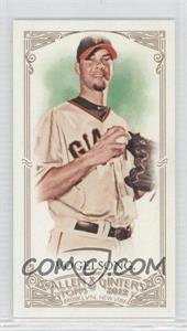 2012 Topps Allen & Ginter's Minis Red Allen & Ginter Baseball Back #152 - Ryan Vogelsong /25
