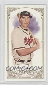 2012 Topps Allen & Ginter's Minis Red Allen & Ginter Baseball Back #161 - Freddie Freeman /25
