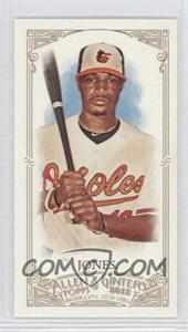 2012 Topps Allen & Ginter's Minis Red Allen & Ginter Baseball Back #224 - Adam Jones /25