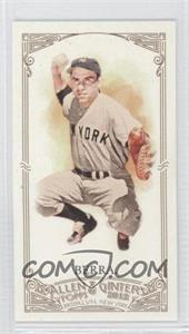 2012 Topps Allen & Ginter's Minis Red Allen & Ginter Baseball Back #23 - Yogi Berra /25