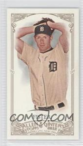 2012 Topps Allen & Ginter's Minis Red Allen & Ginter Baseball Back #258 - Doug Fister /25