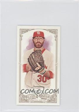 2012 Topps Allen & Ginter's Minis Red Allen & Ginter Baseball Back #263 - Jason Motte /25