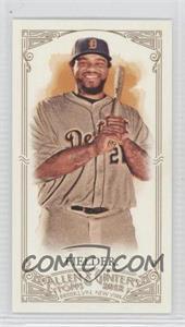 2012 Topps Allen & Ginter's Minis Red Allen & Ginter Baseball Back #338 - Prince Fielder /25