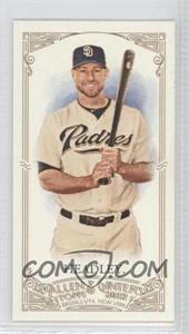 2012 Topps Allen & Ginter's Minis Red Allen & Ginter Baseball Back #348 - Chase Headley /25