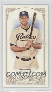 2012 Topps Allen & Ginter's Minis Red Allen & Ginter Baseball Back #348 - Chase Headley /25