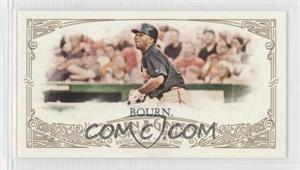 2012 Topps Allen & Ginter's Minis Red Allen & Ginter Baseball Back #76 - Michael Bourn /25