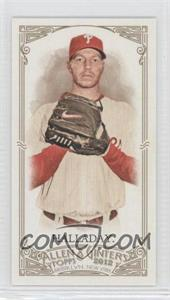 2012 Topps Allen & Ginter's Minis Rip Card High Numbers #362 - Roy Halladay