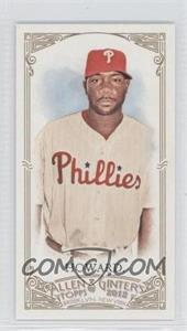 2012 Topps Allen & Ginter's Minis Rip Card High Numbers #373 - Ryan Howard