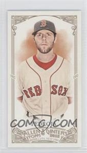 2012 Topps Allen & Ginter's Minis Rip Card High Numbers #380 - Dustin Pedroia